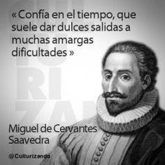 Frase atribuida a Miguel de Cervantes Saavedra