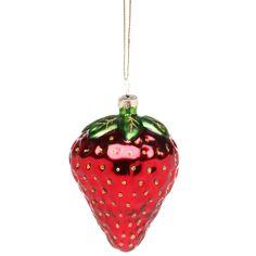HANG ON Anhänger Erdbeere 8cm