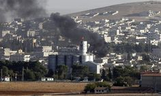 Turkey under pressure to help defend Syrian town after Isis overruns headquarters of Kurdish militia