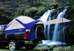 Sometimes finding the perfect camping spot isn't always as easy as it seems, until now. The Sportz Truck Tent III allows you to conveniently set up your camping spot in the back of your truck regardless of the ground conditions.