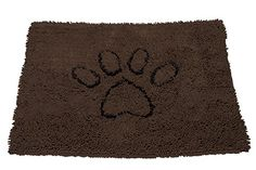 Dog Gone Smart Large Dirty Dog Doormat, Brown