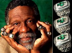 Bill Russell. 9 championships between being a player and a coach. Winner, humble, and just an overall nice guy.