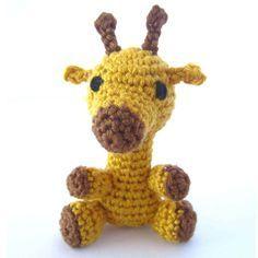 Amigurumi Giraffe häkeln Beitragsbild