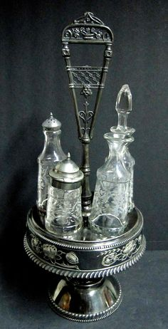 35 Best Antique Cruet Set Images