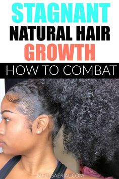 Are you experiencing stagnant natural hair growth? Here's one way to combat it. #hairgrowth Relaxed Hair Growth, Hair Growth Tips, Natural Hair Growth, How To Grow Natural Hair, Natural Hair Updo, Natural Hair Styles, Long Hair Styles, Afro Hair Care, Natural Hair Inspiration