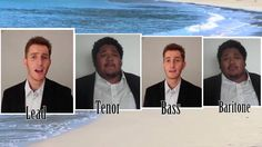 Ebb Tide - Virtual Barbershop Quartet Collab (+playlist)