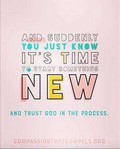 New Year and new opportunity to begin again. Trust God in the process! #newyearnewyou2018 #trustgod #compassionthatcompels #compassioncommunities #compassionbagsforalltypesofcancer #compassionbags