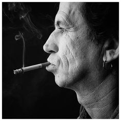 "Keith Richards // ""If you say I'm great, thank you very much. But I know what I am. I could be better...you know?"""