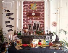 L'imposante cheminée de mon salon était un Portoloin tout trouvé pour cette déco. Sans elle, l'effet n'aurait pas été le même !