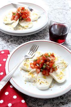 This a great website for Italian cooking, if you understand Italian. Caprese a modo mio e una giornata al