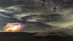 Impressionen des Nachthimmels in Indonesien