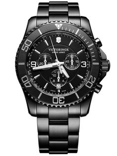 638f7a07d3ff Victorinox Maverick Chronograph Black Dial 241797 Men s Watch