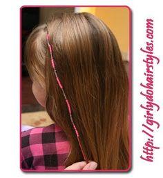 Girly Do Hairstyles: By Jenn: Hair Wraps