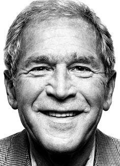 G.W. Bush by platon