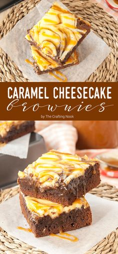 These Salted Caramel Cheesecake Brownies are one of the most decadent and mouthwatering dessert I've ever made. Moist and soft with a rich chocolate flavor. The addition of the delicious salted caramel makes it all so amazingly flavorful. You won't get disappointed.