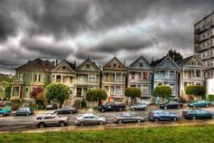 Painted Ladies (Postcard Row) #1 - San Francisco Computer ...