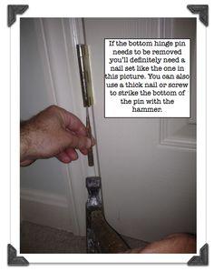 Fix a squeaky bedroom door in no time!!