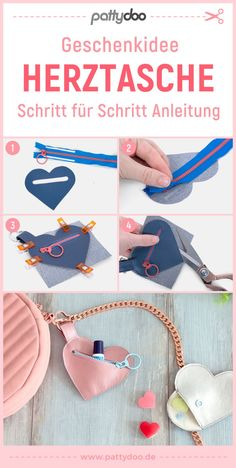 Sewing instructions for a heart pouch Bra Storage, Diy Nightstand, Pouch, Wallet, Utility Tote, Fabric Bags, Jewelry Case, Tote Handbags, Diy Design