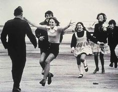 "Lt. Colonel Robert L. Stirm was one of the 591 American prisoners of war who were returned during Operation Homecoming in 1973. This famous Pulitzer Prize-winning shot was taken by Sal Veder, and is known as ""Burst of Joy"". It came to symbolize the end of the United States involvement in Vietnam."