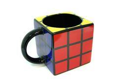Rubiks Cube Mug-Home and Garden Design Ideas