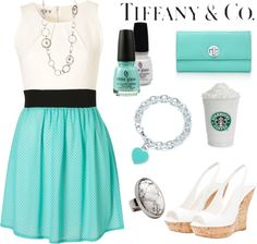 tiffany blue (via Best outfits for 365 days | iFashionDesigner.org)