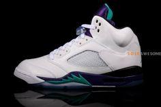 """Air Jordan Retro 5 """"Grape"""" 2013"""