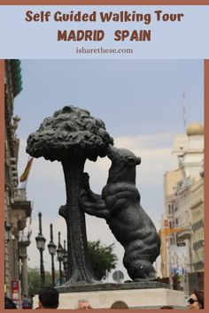 Madrid Walking Tour, Spain along Old Streets - i Share