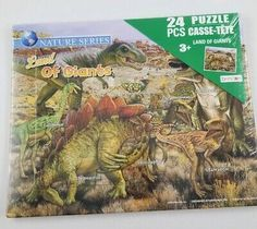 Mini Woodcraft Construction Kit Puzzle Lot 10 School Craft Dinosaur Crocodile