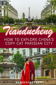 Did you know there's a whole copy cat Paris in China? Here's how to visit Tianducheng, a few hours from Shanghai China Travel, France Travel, Visit China, Backpacking Asia, Travel Advisory, Great Wall Of China, Travel Guides, Travel Tips, Trip Planning