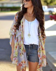 12 Cool Summer Freizeit-Outfits für weibliche Teenager
