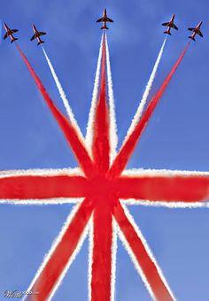 The Red Arrows. British Things, British Style, Union Flags, Grande Bretagne, Union Jack, British Isles, London Calling, London England, Great Britain