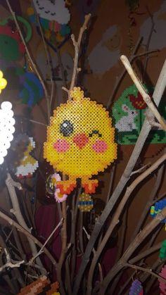 Art Perle, Kawaii Diy, Melting Beads, Pearler Beads, Blog, Bead Art, Bead Crafts, Beading Patterns, Pixel Art
