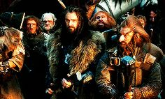 Thorin meets Elrond (gif)