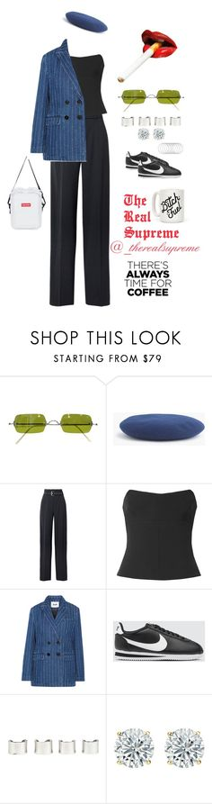 """BEAN"" by supremestyles ❤ liked on Polyvore featuring Oliver Peoples, J.Crew, 3.1 Phillip Lim, Tom Ford, MSGM, NIKE, Maison Margiela and Melissa Joy Manning"