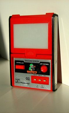 Game and Watch is a line of handheld electronic games produced by Nintendo from 1980 to 1991. Created by game designer Gunpei Yokoi, each Game and Watch features a single game to be played on an LCD screen in addition to a clock and an alarm (thus, ' Video Game Systems Information.