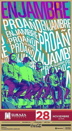 Enjambre  Viernes, 28 de noviembre. 21:00 hrs  El Plaza Condesa