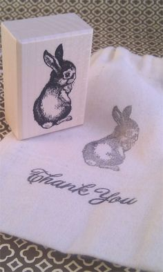 Little bunny stamp!
