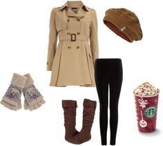 """New York winter"" by hannah-wildbanana on Polyvore"