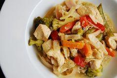 Crock Pot Thai Green Curry Chicken