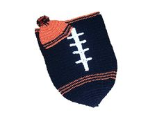 Cincinnati Bengals Inspired Football Cocoon & Hat by CoverMeAlways, $40.00