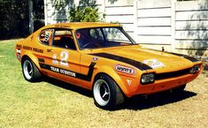 South Africa's Capri Perana was essentially a Capri stuffed full of Ford parts. Ford Mustang, Ford Gt40, Classic Race Cars, Ford Classic Cars, Ford Capri, Mercury Capri, Old School Cars, Cars Uk, Ford Escort