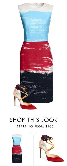 """Untitled #275"" by kate-reads on Polyvore featuring Canvas by Lands' End and Christian Louboutin"