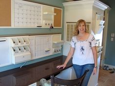 I believe this collection is from Pottery Barn. family command center   family command center by Rtmi