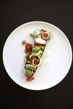 Grilled Zucchini Salad!