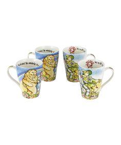 Wizard of Oz 15-Oz. Mug - Set of Four