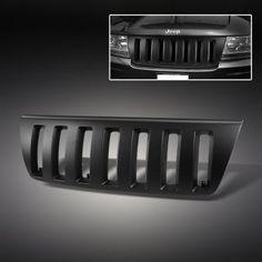 Jeep Grand Cherokee Black Vertical Grille