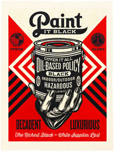 paint it black hand art print by shepard fairey onsale info is part of Shepard fairey obey - Paint It Black Hand Art Print by Shepard Fairey (Onsale Info Streetart Poster Shepard Fairey Prints, Shepard Fairey Obey, Murals Street Art, Mural Art, Retro, Hand Painted Walls, Hand Art, Silk Screen Printing, Statements