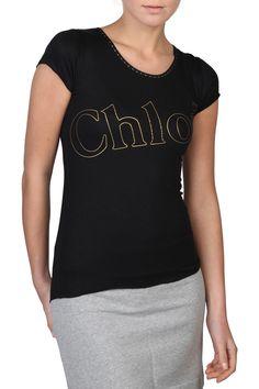 Chloe Classic T-shirt In Black
