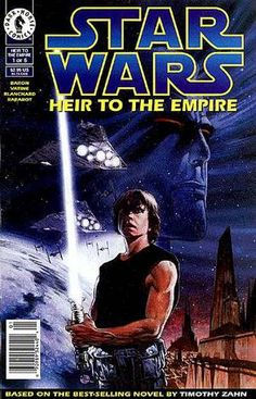 Star Wars: Heir to the Empire Star Wars Comic Books, Star Wars Novels, Star Wars Comics, Comic Books Art, Comic Art, Book Art, Comic Book Covers, Dark Horse, Science Fiction