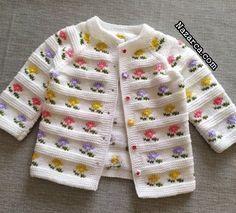 Baby Cardigan Knitting Pattern Free, Baby Boy Knitting Patterns, Knitted Baby Cardigan, Knit Baby Sweaters, Knitting For Kids, Knitting Designs, Baby Patterns, Baby Boy Sweater, Knit Baby Dress